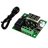 SODIAL(R) 12V Digital Module Red Temperatura LED Controllore Controllore termostato TE331
