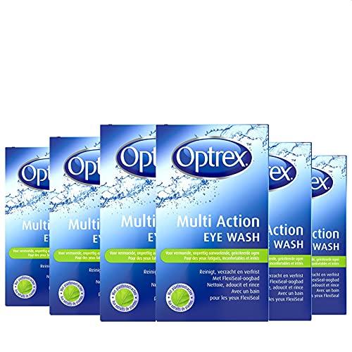 Optrex Oogdouche Multi Action Eye Wash – 100ml x6