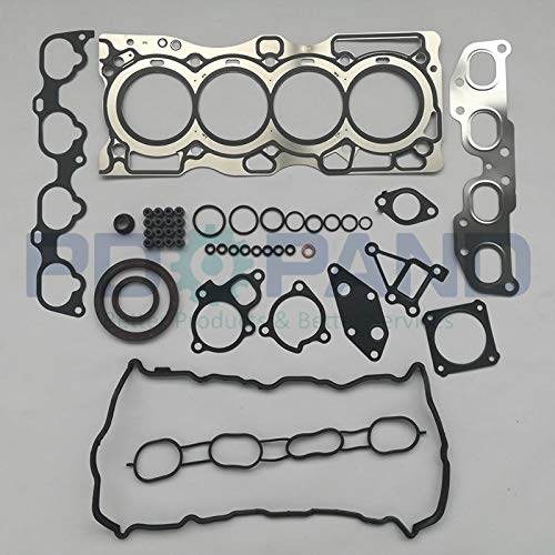Valves & Parts QR25 QR25DE Engine Full Rebuild Gasket Set/Kit for Nissan X-Trail T30/SENTRA B15 B16/ALTIMA Coupe Hybrid 2.5 2488cc 2001-