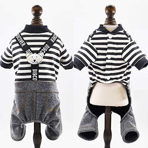 XPC-Pet Clothes kleding voor huisdieren, accessoires voor dieren, jumpsuit, leuk, modieus, T-shirt, voor huisdieren, katten, blouses, spring, binnen