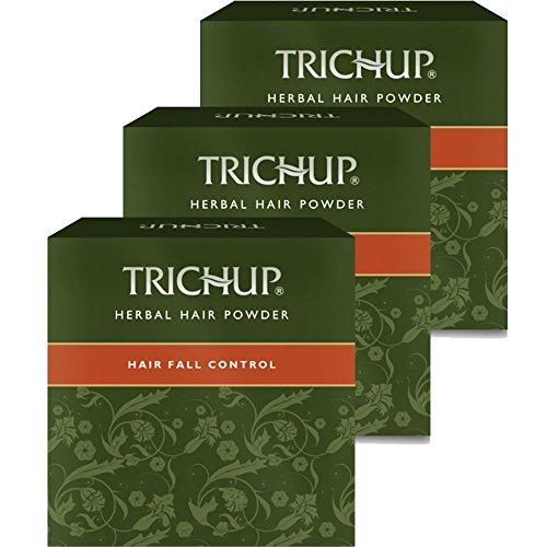 Trichup Capelli Autunno Controllo Puro Salutare Naturale Erbaceo Capelli Polvere (120 g x 3) Pacco di 3