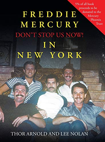 Freddie Mercury in New York Don't Stop Us Now!