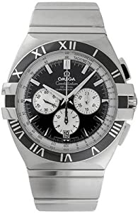 Omega Men's 1519.51.00 Constellation Double Eagle Chronometer Chronograph Watch Prices and For Sale and review image