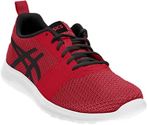 ASICS Womens Kanmei Cosmo Pink/Black/Plune Running Shoe - 8.5