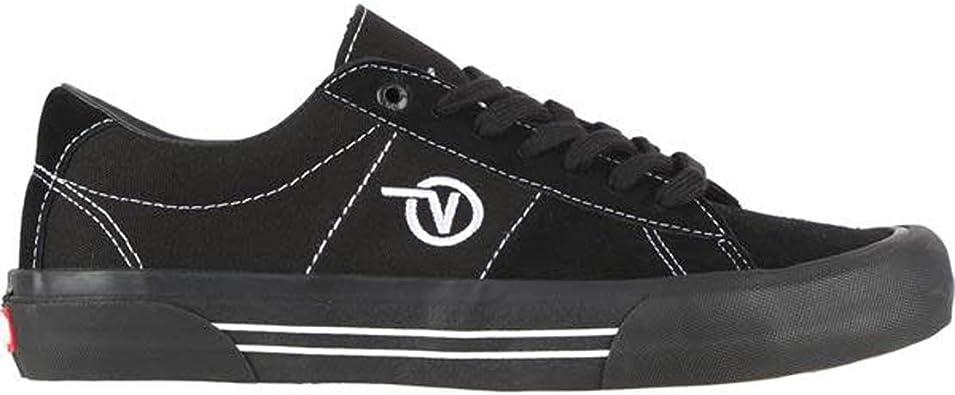 Vans Homme Chaussures de Skateboard Saddle Sid Pro Black/Black ...