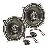 tomzz Audio 4019-003 Lautsprecher Einbau-Set passend für Kia Picanto Hyundai i10 Getz Fronttür 130mm Koaxial System TA13.0-Pro