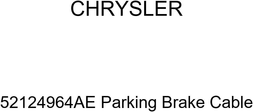 Chrysler Genuine 52124964AE Cable Brake Parking Outlet SALE New Shipping Free Shipping