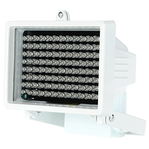 Galapara IR-Strahler Licht 96 LEDs IR Illuminator Array Infrarotlampen Nachtsicht im Freien wasserdicht für CCTV-Überwachungskamera