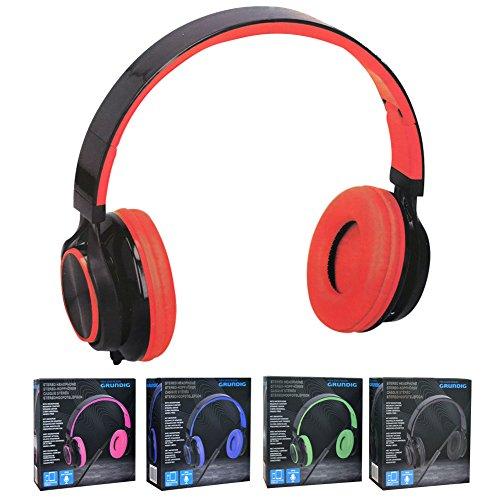 Grundig koptelefoon stereo 5 asorti