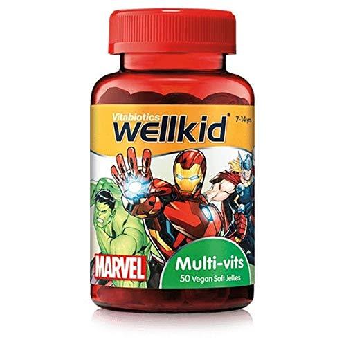 Vitabiotics Wellkid Multi Vitamins Jellies - 50 Vegan Soft Jellies