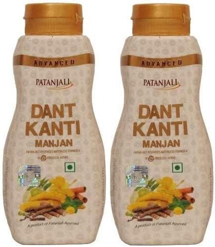 Patanjali Advance 5 popular Dant Manufacturer OFFicial shop Kanti Manjan 100g p 2 Original of Pack