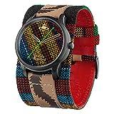 [ヴィヴィアンウエストウッド] レディース Africa おしゃれ 個性派 太いベルト 刺繍デザイン マルチカラー VV197BKAF 腕時計 [並行輸入品]