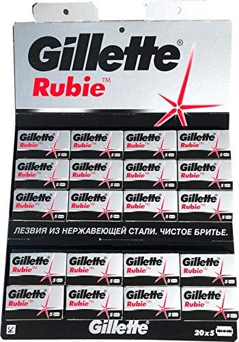 100 Rasierklingen GiIIette Rubie
