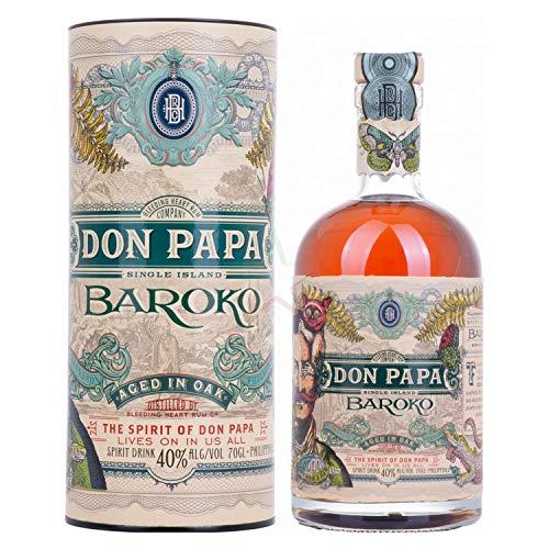 Don Papa Rum Baroko 40% - 700ml in Giftbox