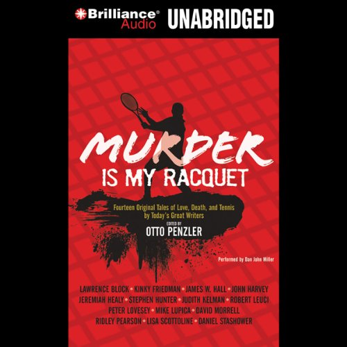 Murder Is My Racquet audiobook cover art