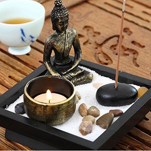 Buddha im Zen-Garten - 2