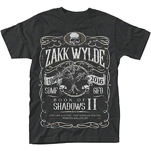 Zakk Wylde 'Book of Shadows Ii' T-Shirt & L