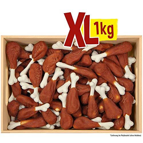 Antos Beeztees Pieds de poulet 1 kg pour grignoter et mâcher Faible en graisse et riche en calcium