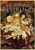 xiangpiaopiao Póster Retro De Dibujos Animados De Anime The Neverland Póster Imprime Carteles De Pintura De Pared para La Decoración del Café De La Habitación del Bar del Hogar 50X70Cm Kq-3378