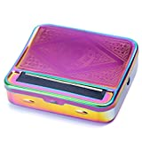 Automatic Rolling Box, Cigarette Rolling Machine Portable Metal Box for Rolling Tobacco, Smoking Roller and Storage Case (Multicolour)