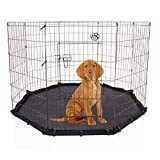 COZY PET Large Puppy Playpen inc Water Resistant Floor for Dogs Puppies Rabbits Guinea Pigs, Play Pen Dog Cage Crate Rabbit Run PP03 + Floor (We dont ship to the Channel Isles or The Isles of Scilly)