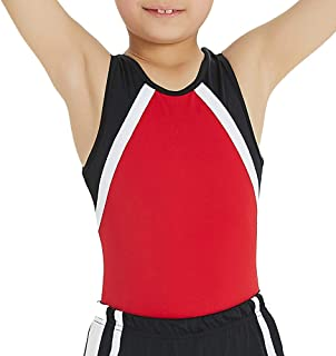 NEW DANCE Boy's Gymnastics Leotard Toddler Ballet Dance Practice Atheletic Competition Training Tank