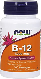 Now Foods Vitamin B-12 1000 Mcg Lozenges - 100 Capsules