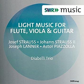 Light Music for Flute, Viola & Guitar