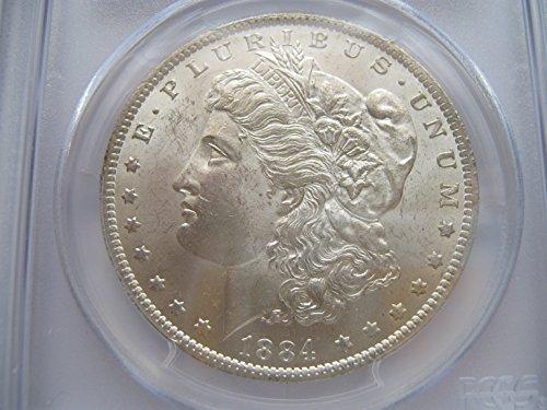 1884 Morgan $1 PCGS MS-64