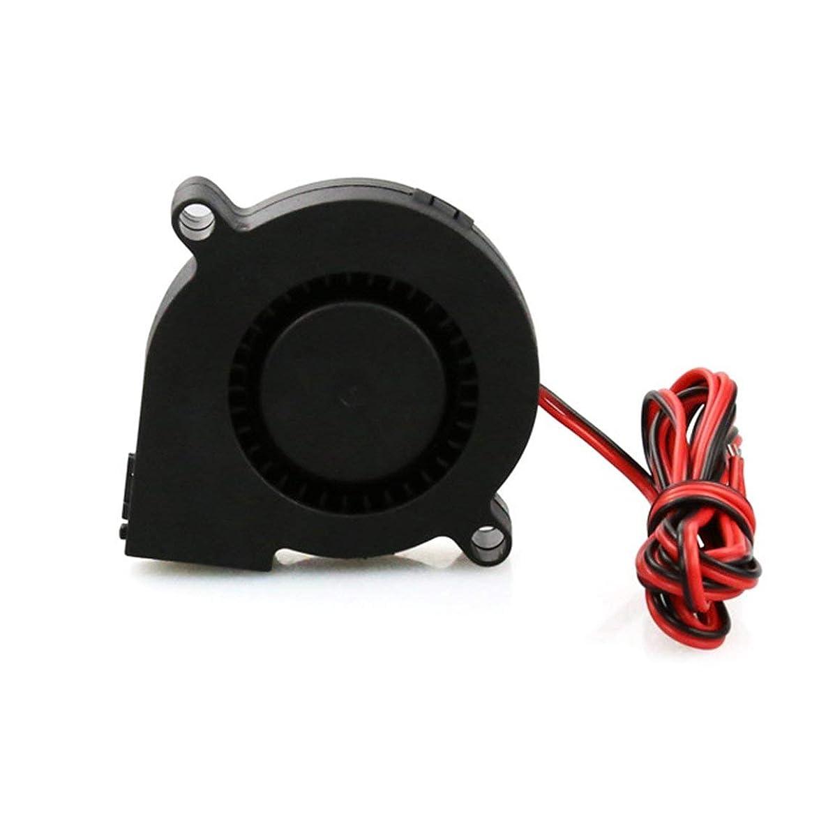 のぞき見だます不適Followmyheart 3Dプリンター部品DC24Vの冷却ファンの超静かなタービン小さいDCの送風機5015のための3DプリンターサーキットボードDC12V 24V