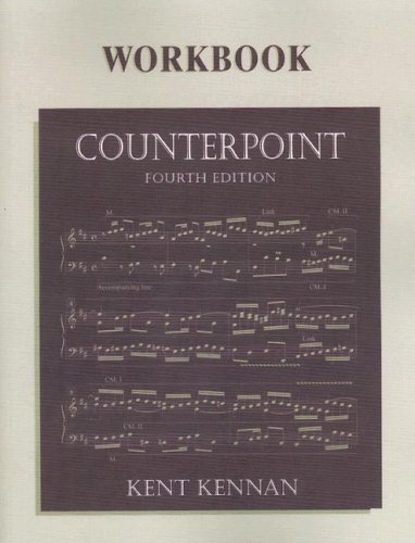 Counterpoint Workbook