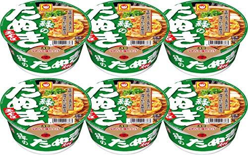 Midori No Tanuki Ten Soba (Tempura Soba) 3.49oz (Pack of 6)