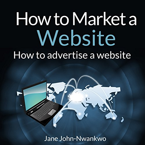 How to Market a Website audiobook cover art