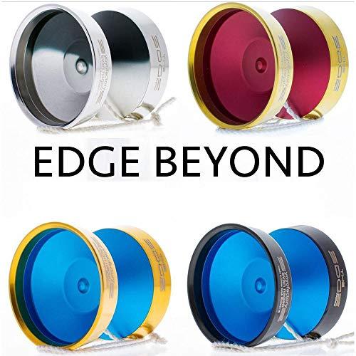 YoYoFactory Edge Beyond Yo-Yo - World Champion Evan Nagao Signature Yo-Yo! (Black Silver Fade)