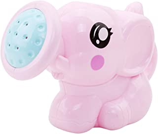 LALANGCute Little Elephant Sprinkler Baby Bath Toy Water Sand Tool Gift for Children(Pink)