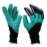 Gartenhandschuhe, Thorn Resistant Safe Gartenhandschuhe zum Beschneiden von Rosen, Graben, Pflanzen, Raking, Best Gift Idea für Gärtner (2 Paar)