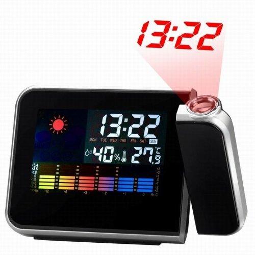 dengzhu proiezione orologio–sveglia con proiezione con stazione meteo