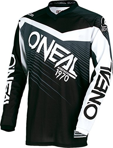0008-105 Oneal Element Rennkleidung, Motocross-Hemd, Größe XL, schwarz-grau