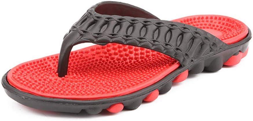 JMung [正規販売店] Acupressure Massage Reflexology Slippers for 新品未使用正規品 Flop Flip Men