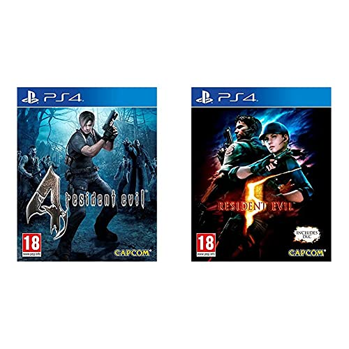 Resident Evil 4 HD & Evil 5 HD