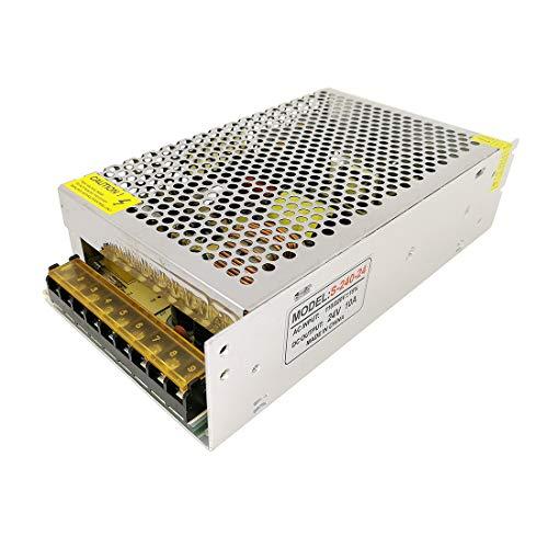 JOYLIT 240W Transformador de Voltage Alimentación de Interruptor AC 220V a 24V DC 10A Fuente de Alimentación para Tira de LED