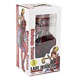 Gwgbxx 24 cm Bishoujo Estatua Deadpool Figura Lady Deadpool IR de Compras con Bolsa Hamburguesa X-Men Modelo Juguetes (Color : In Color Box)
