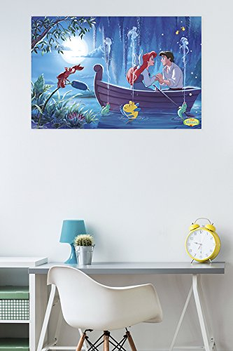 "Trends International Ariel-Kiss the Girl Premium Wall Poster, 22.375"" x 34"""