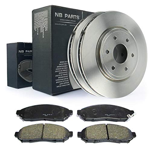 Bremsen/Bremsscheiben + Bremsbeläge vorne NB PARTS GERMANY 10041045