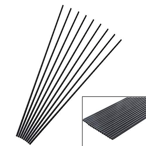 ZSHJG Tiro al Arco Tubos de Carbono de Spine 400 para Flechas de Bricolaje Carbono Eje de Flecha (12)