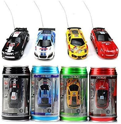 Color Random Us Coke Can Mini Rc Radio Remote Control Speed Micro Racing Car Vehicle Toy Gift product image