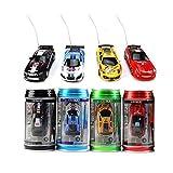 Color Random) Us Coke Can Mini Rc Radio Remote Control Speed Micro Racing Car Vehicle Toy Gift