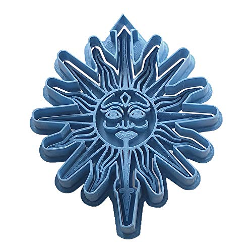 Cuticuter Martell Juego De Tronos Cortador de Galletas, Azul, 8x7x1.5 cm