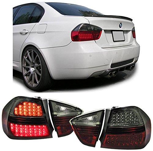 Carparts-Online 13281 LED Rückleuchten rot schwarz smoke