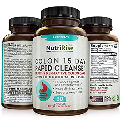 colon cleanser & detox for weight loss